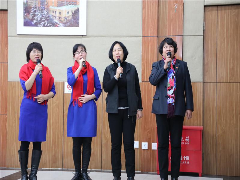 学校举办教职工诗歌卡拉OK比赛