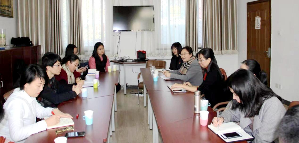 【不忘初心 牢记使命】国际教育学院赴北京交通大学开展主题教育专题调研