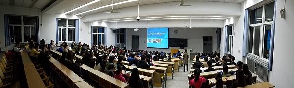 """学习十九大   信息工程学院举办""""团聚新生 不忘初心跟党走""""讲座"""