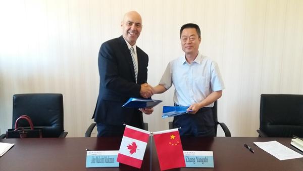 加拿大卡普顿大学与北印签署合作协议